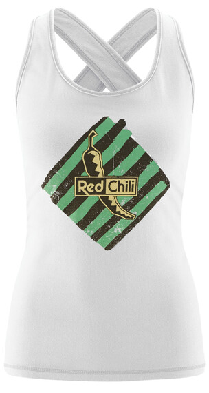 Red Chili Psycho Tanktop Dames wit